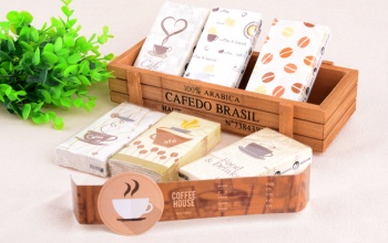 Coffee-Cafe-Food-Drink-Printing-paper-creative-Fashion-tissue-paper-Pulp-Tissue-packag-gift-box-handkerchief